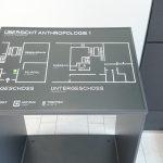 Bild des Taktilen Lageplans im Eingangsbereich