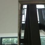 Bild der taktilen Beschriftung des Treppenlaufs