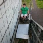 Bild des Treppenlifts